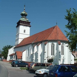 The Church Of Sajószentpéter, Hungary