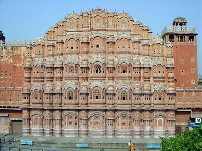 The Complete View Of Hawa Mahal