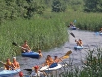 The Czarna Hańcza River