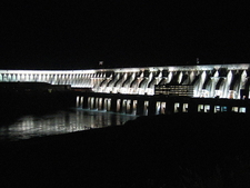The Dam At Night