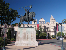 The El Cid Sculpture