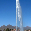 The Fountain Of Fountain Hills Arizona Spews Water