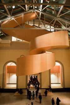 The Gehry Designed Spiral Stairwell