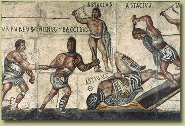 The Gladiator Mosaic