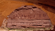 The Great Gallery - Horseshoe Canyon