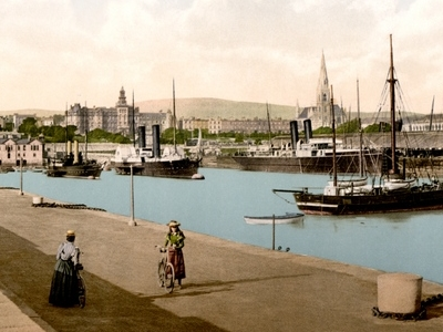 The Harbour In Dun Laoghaire