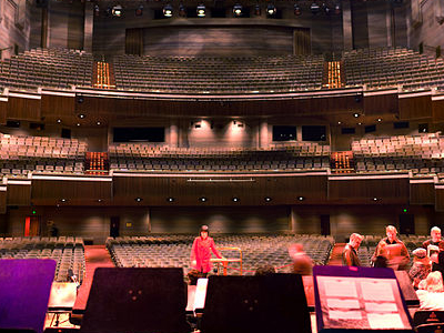 The Interior Of Hamer Hall
