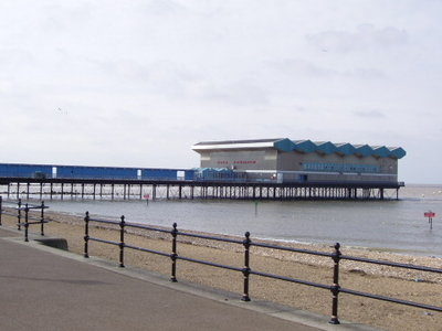 The Landward End Of  Herne  Bay Pier
