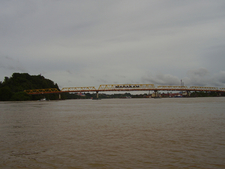 The Mahakam Bridge In Samarinda
