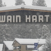 The Main Entrance Into Twain Harte