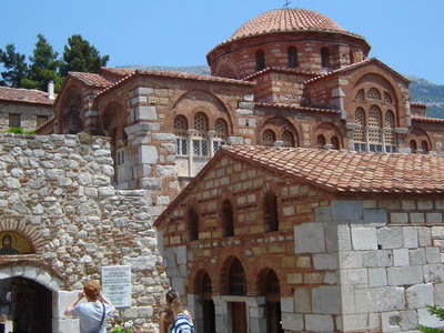 The Monastery Of Hosios Loukas.