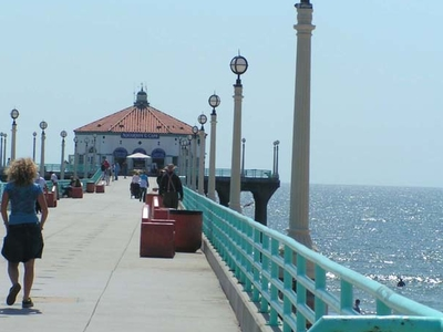 The Pier At Manhatten Beach