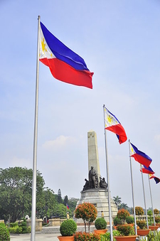 The Rizal Mounument On Rizal Park