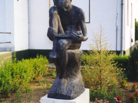 The Sculpture of a Reading Boy