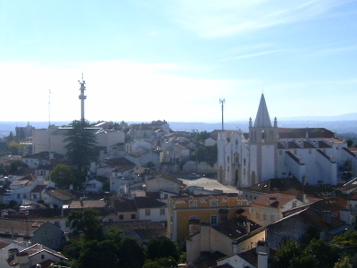 Skyline Of  Abrantes