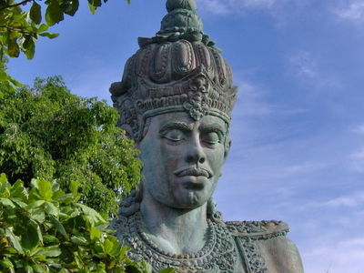 The 23-metre (75.5 Ft) Statue Of Vishnu