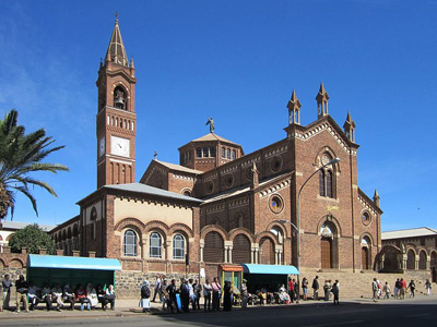 The St. Joseph Catholic Cathedral In Asmara