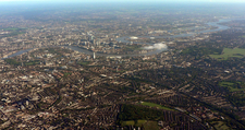 The Thames As It Flows Through East London