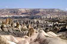 The Town Göreme With Rock Houses