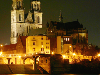 The Towns Symbol   Cathedral Of Magdeburg