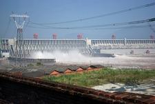 Three Gorges Dam Over Yangtze River