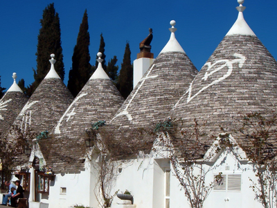 Three Trulli.