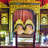 Throne Of Sultan Mahmud Baharuddin II .