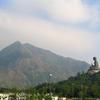 Tian Tan Buddha With Lantau Peak