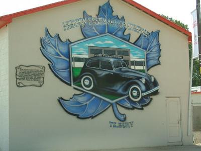 Tilbury  Mural