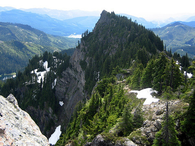 Tinkham Mountain At Glacier - USA