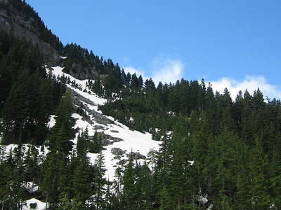 Tinkham Mountain - Glacier - USA