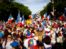 Tintamarre During National Acadian Day 2 0 0 9 2 C Caraqu