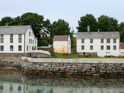 Old Trading Centre At Tjøtta