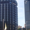 La Caixa, Towers 1 And 2 (on The Right)