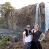 Tourists @ Blue Nile Falls ET Bahir Dar