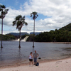 Tourists In The Lagoon Of Canaima