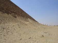 Tourists Visiting Snofru Red Pyramid