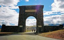 Tower-Roosevelt Area Visitor Facility - Yellowstone - Wyoming -