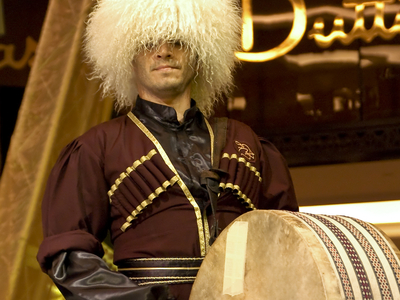 Traditional Clothing & Musical Instruments