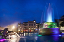 Trafalgar Square - LED Fountain