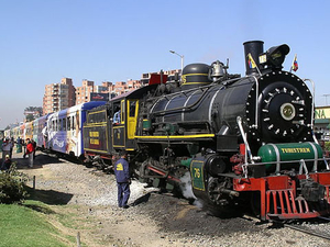 Round-trip Independent Rail Tour to Zipaquirá from Bogotá on Scenic Steam Train Photos