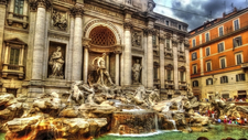 Trevi Fountain View - Rome
