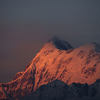 Trisul Mountain From Gwaldam