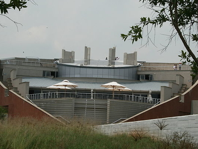 Tumulus Building At Maropeng Visitors Centre