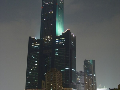 Tuntex  Sky  Tower Night