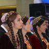 Turkmenistan Women In Traditional Dress