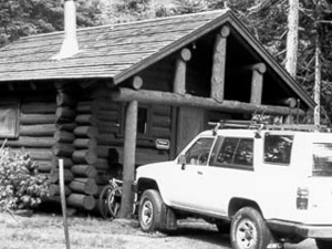 Two Medicine Camptender's Cabin