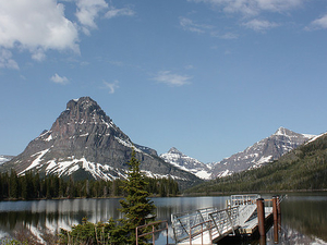 Two Medicine Lake - Glacier - Montana - USA