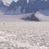 View Across The Taku Glacier