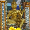 Four Faced Brahma Statue In Shrine